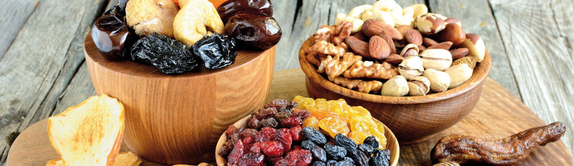 Découvrez nos fruits secs bio