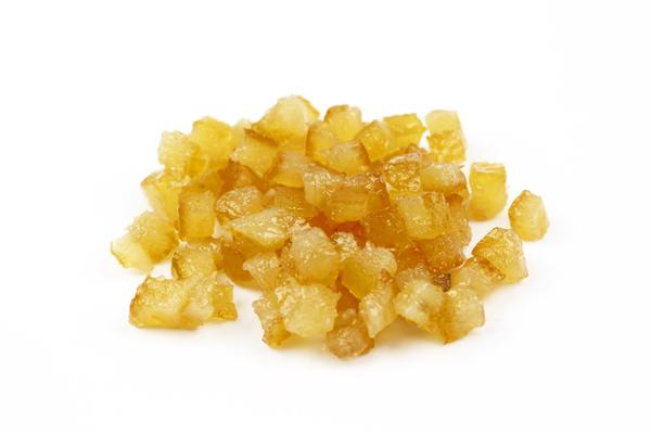 Écorces de citron confit en cubes (6x6mm) biologiques - Qualité pâtissière