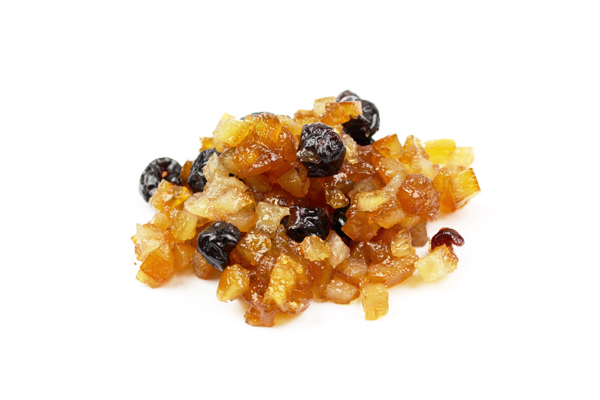 Mélange de fruits confits biologiques