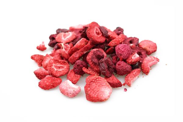 Mélange de fruits rouges lyophilisés biologique