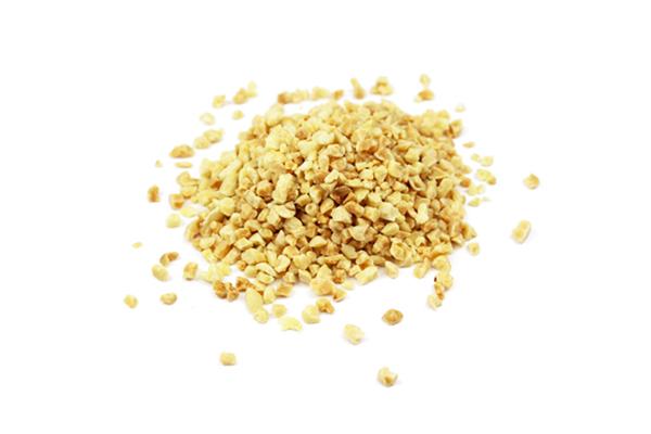 Amandes granulat 2-4 mm toastées biologiques