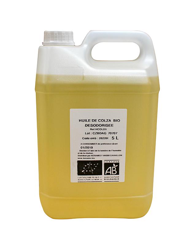 huile colza desodorisee