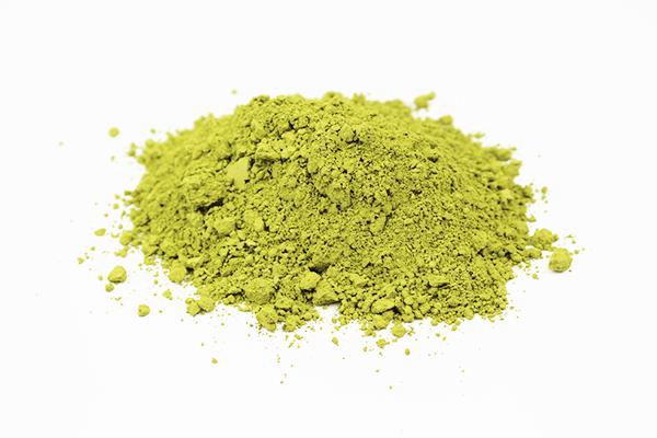 Vert : Thé vert matcha biologique