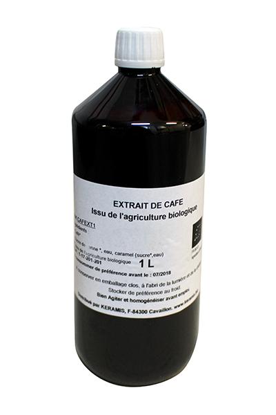 Arôme naturel de café biologique