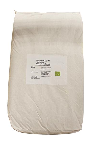 Farine de blé blanche T55 biologique