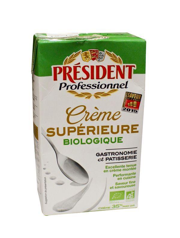 Crème UHT 35% de MG biologique