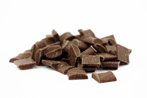 Chunks au chocolat lait biologiques